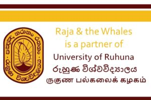 raja & the whales ruhuna partner